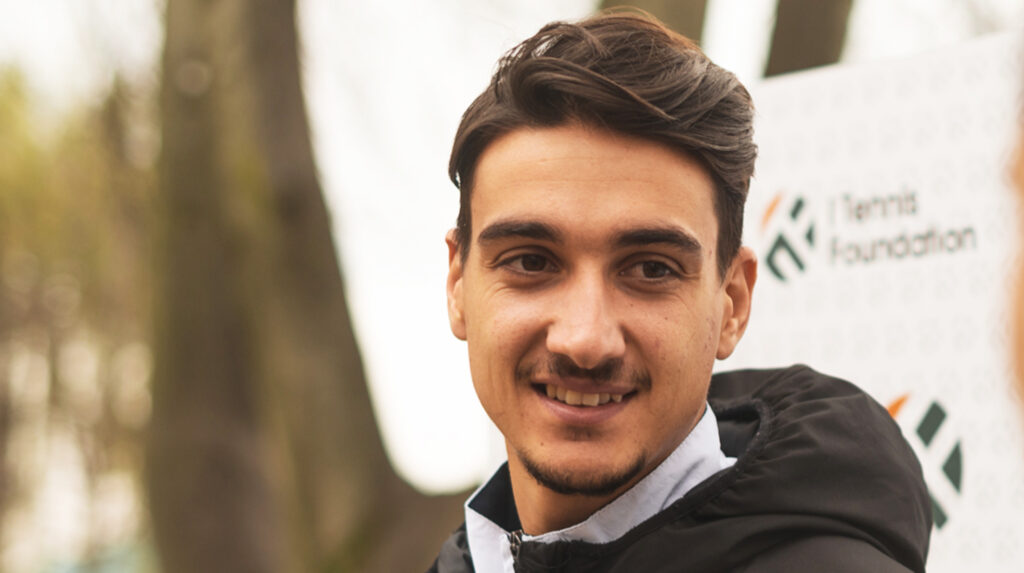Lorenzo Sonego testimonial progetto Torino Tennis Talents