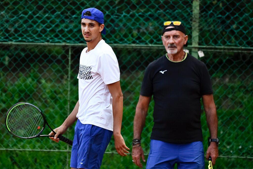 Lorenzo Sonego e Gipo Arbino